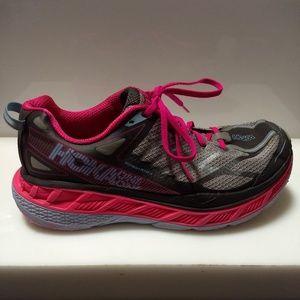 Hoka One One Shoes - Hoka One One Women Stinson ATR 4 Pink Shoes